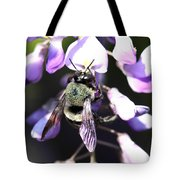 Bee And Blooms - Card Tote Bag