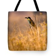Bee Eater With Insect Tote Bag