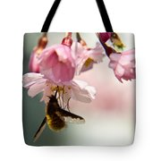 Bee Fly Feeding 2 Tote Bag