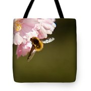 Bee Fly Feeding 4 Tote Bag
