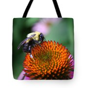 Bee-ing Happy Tote Bag