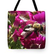 Bee With Cinearia Tote Bag