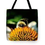 Beeing Healthy With Echinacea Pow Wow Tote Bag