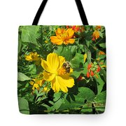 Bees Again Tote Bag