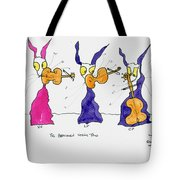 Beethoven String Trio Tote Bag