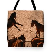 Before The Herd Tote Bag
