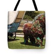 Begonia Horse Tote Bag