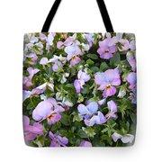 Begonias In Bloom Tote Bag