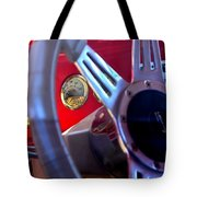 Behind The Wheel Of A 1940 Ford Tote Bag