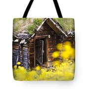 Behind Yellow Flowers Tote Bag by Heiko Koehrer-Wagner