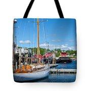 Belfast Harbor Tote Bag