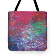 Belief In Cool Fire Tote Bag