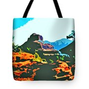 Bell Rock Sedona Arizona Tote Bag