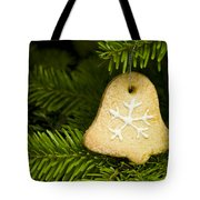 Bell Shape Short Bread Cookie Tote Bag