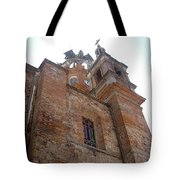 Bell Tower Of Our Lady Of Guadalupe Tote Bag