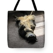 Belly Up Tote Bag