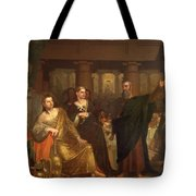 Belshazzar's Feast Tote Bag by Washington Allston