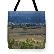 Bembridge Harbour And The Solent Tote Bag