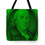 Ben Franklin Ingreen Tote Bag