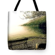 Bench In Autumn Tote Bag by Joana Kruse