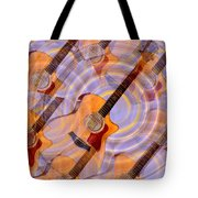 Bending Time And Space Tote Bag