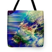 Bending Time Tote Bag