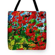 Beneath The Autumn Tree Tote Bag