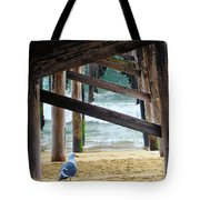 Beneath The Pier II Tote Bag