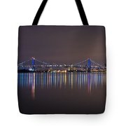 Benjamin Franklin Bridge Tote Bag