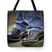 Bennys Boots Tote Bag