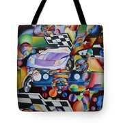 Ben's Car Show Tote Bag