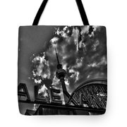 Berlin Alexanderplatz Tote Bag by Juergen Weiss
