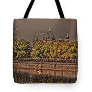 Berlin Cathedral ... Tote Bag by Juergen Weiss