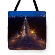 Berlin From The Siegessaule  Tote Bag by Mike Reid