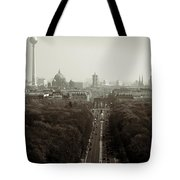 Berlin From The Victory Column Tote Bag