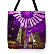 Berlin Sony Center Tote Bag