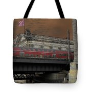 Berlin Train Tote Bag