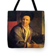 Bernard Le Bovier De Fontenelle, French Tote Bag by Science Source