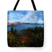 Berries On The Crater Tote Bag