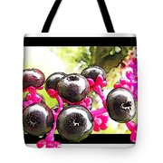 Berry Burst   Poke Berries Tote Bag