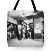 Bertillons Filing System, 19th Century Tote Bag by Science Source
