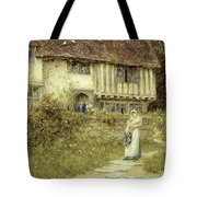 Beside The Old Church Gate Farm Smarden Kent Tote Bag