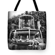 Bethesda Fountain Tote Bag by Paul Ward