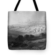Bethlehem Engraving By William Miller Tote Bag