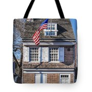Betsy Ross House Tote Bag