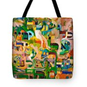 Better One Be Known As An Idiot All His Days Then To Be Wicked Before Hashem A Single Moment. Tote Bag