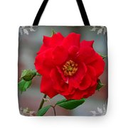 Betty's Red Rose Tote Bag