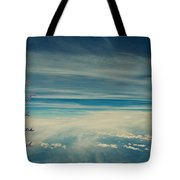 Between Earth And Sky Tote Bag