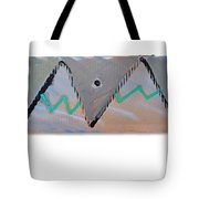 Between The Mountains And The Fishes Tote Bag