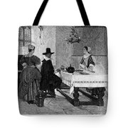 Between Two Fires, C1892 Tote Bag